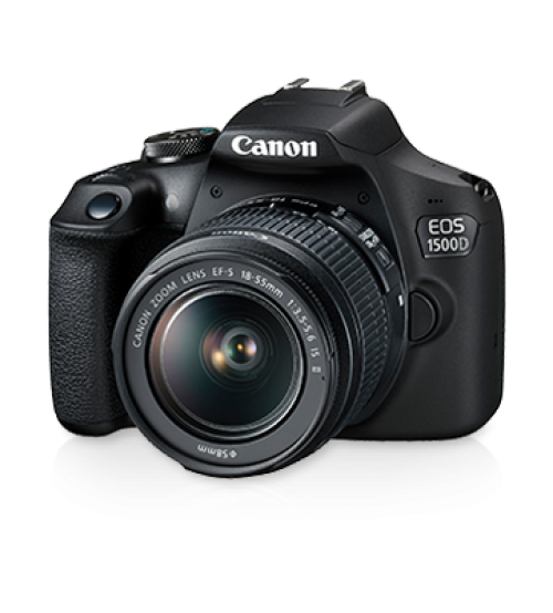 canon EOS 1500D + 18-55 II