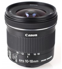 canon EF -S 10-18mm F4.5-5.6 IS STM