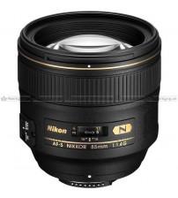 Nikon AF -s 85mm f/1.4G Nano