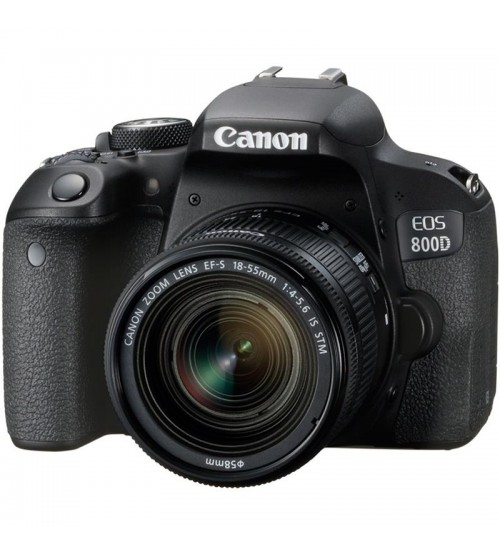 Canon EOS 800D +Kit 18-55mm
