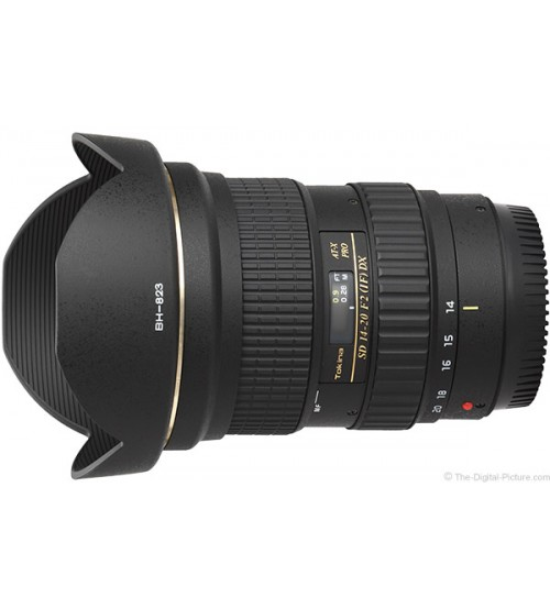 Tokina AT-X 14-20mm f/2 PRO DX Lens for Canon/Nikon