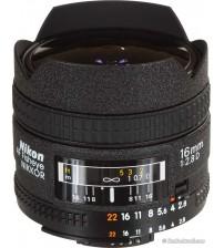 Lens Nikon AF Fisheye 16mm f/2.8D